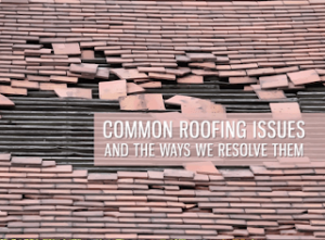Common Roofing Issues and the Ways We Resolve Them